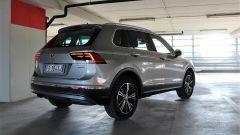 Volkswagen Tiguan 2.0 Tdi 150 CV DSG 4Motion: vista 3/4 posteriore