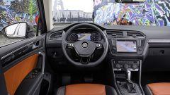 Volkswagen Tiguan 2016, gli interni