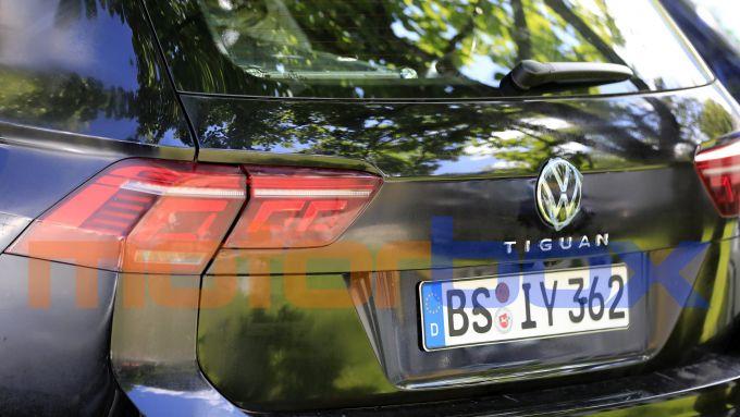 Volkswagen Tiguan 2021: i nuovi gruppi ottici posteriori