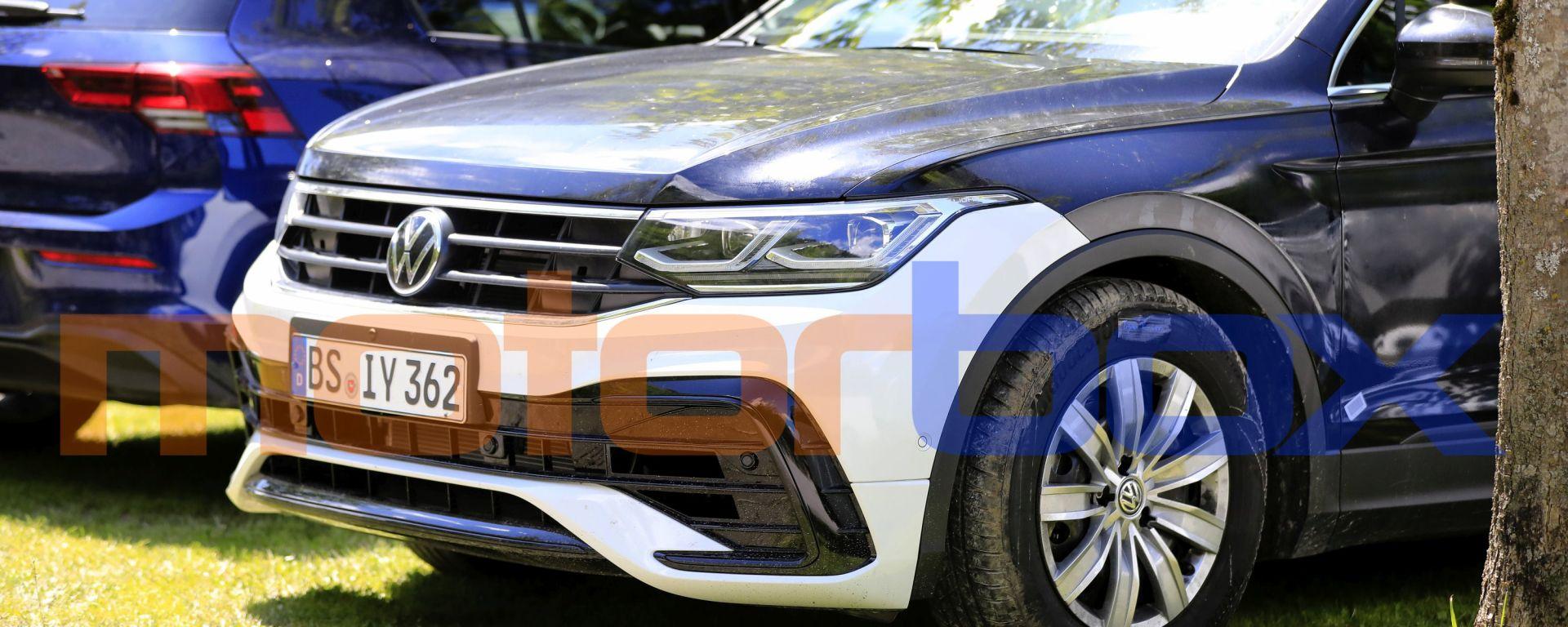 Volkswagen Tiguan 2021: le foto spia