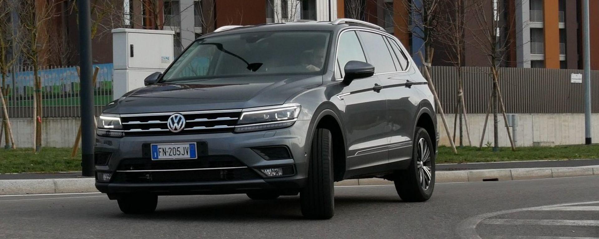 Volkswagen Tiguan Allspace 2.0 Tdi 150 CV: mostra quanto ce l'hai grosso...il SUV