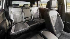 Volkswagen Tiguan Allspace 2021: i sedili posteriori in uso