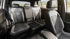 Volkswagen Tiguan Allspace 2021: i sedili posteriori scorrevoli