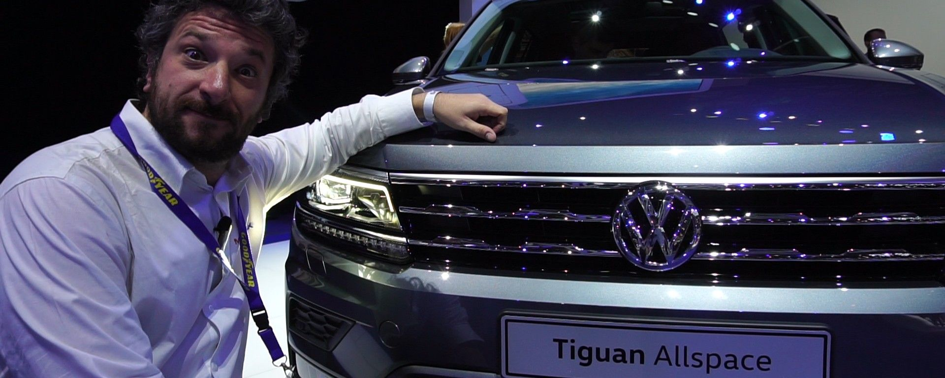 Volkswagen Tiguan Allspace al Salone di Ginevra 2017