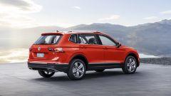 Volkswagen Tiguan Allspace, il posteriore
