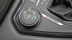 Volkswagen Tiguan Allspace - il selettore con le diverse modalità di guida
