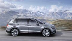 Volkswagen Tiguan Allspace: la carrozzeria cresce di 215 mm