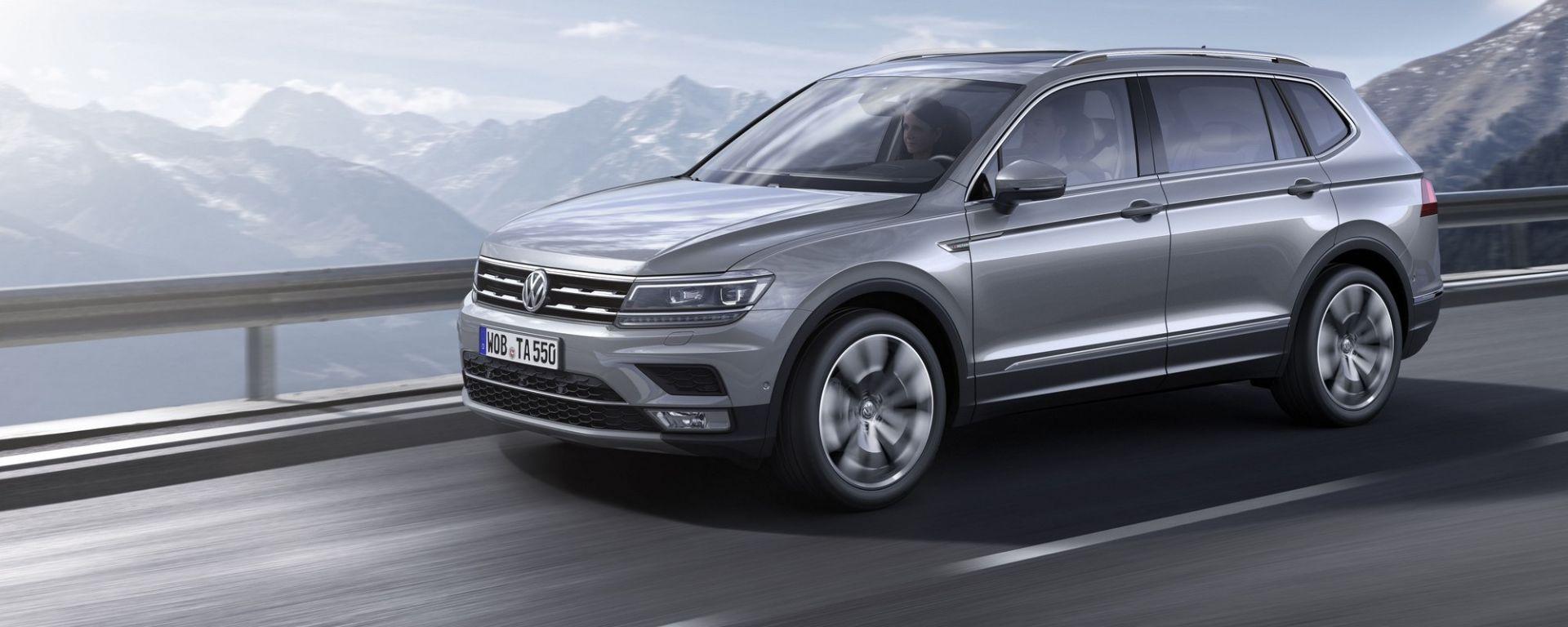Volkswagen Tiguan Allspace: sbarca in Europa la Tiguan extralarge