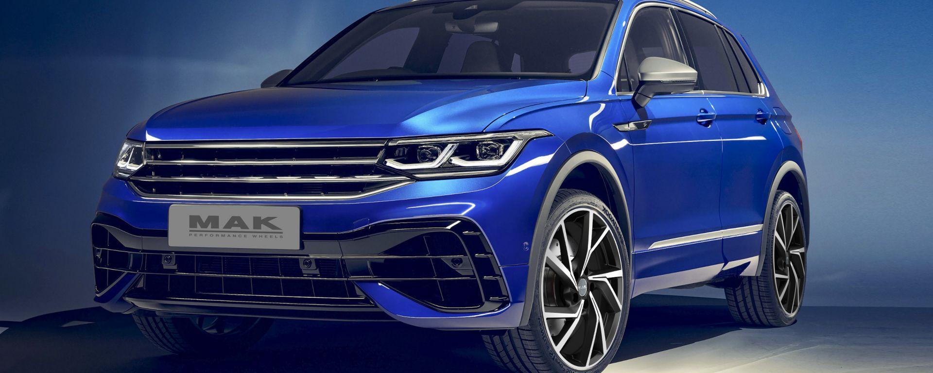 Volkswagen Tiguan con i cerchi Kassel