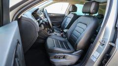 Volkswagen Tiguan, gli interni