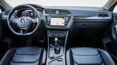Volkswagen Tiguan, la plancia