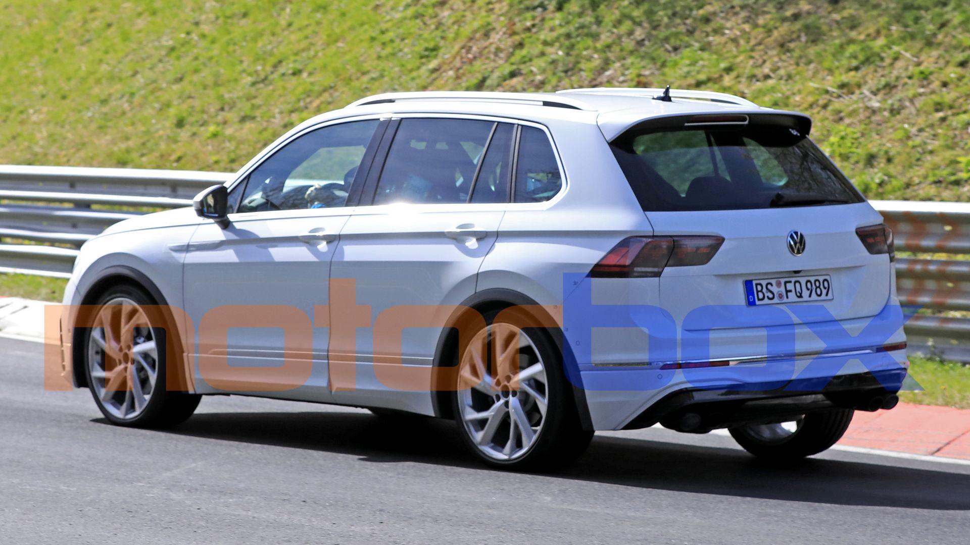 Nuova Volkswagen Tiguan R 2021: foto, news, tempi di ...
