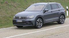 Volkswagen Tiguan R, prime foto spia