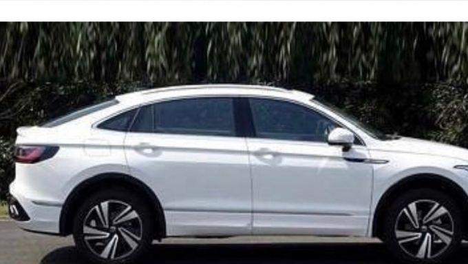 Volkswagen Tiguan X, le foto spia di Coche Spias