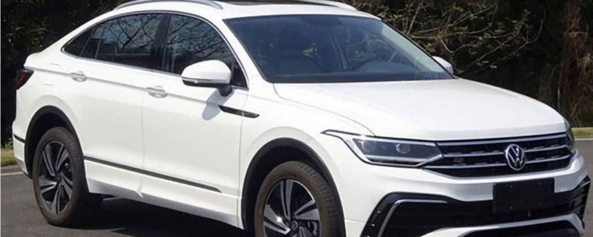 Volkswagen Tiguan X, le foto spia di Cochespias
