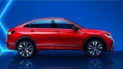 Volkswagen Tiguan X: visuale laterale