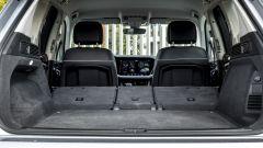 Volkswagen Touareg Advanced 3.0 V6 TDI 286 CV, il bagagliaio con i sedili abbattuti