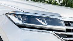 Volkswagen Touareg Advanced 3.0 V6 TDI 286 CV, il gruppo ottico anteriore
