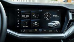 Volkswagen Touareg Advanced 3.0 V6 TDI 286 CV, lo schermo dell'infotainment
