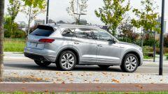 Volkswagen Touareg Advanced 3.0 V6 TDI 286 CV, un momento della prova su strada