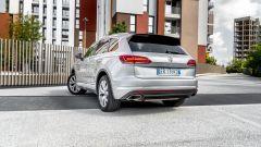 Volkswagen Touareg Advanced 3.0 V6 TDI 286 CV, vista 3/4 posteriore