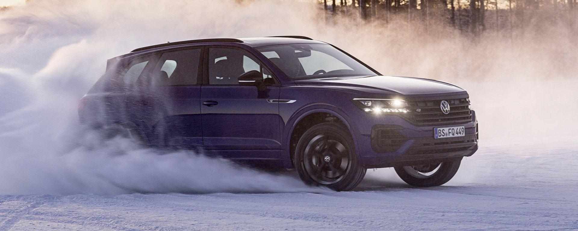 Volkswagen Touareg R ha la trazione integrale di serie