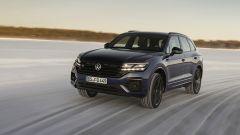 Volkswagen Touareg R, sulla neve