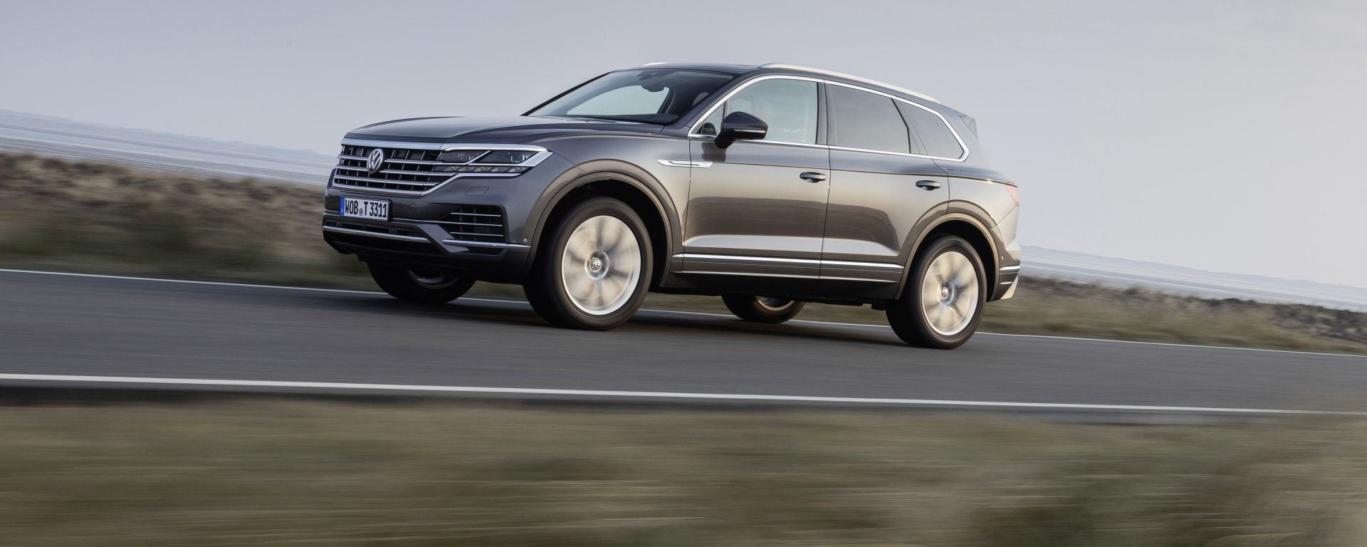 Volkswagen Touareg V8 TDI: emissioni di NOx ridotte