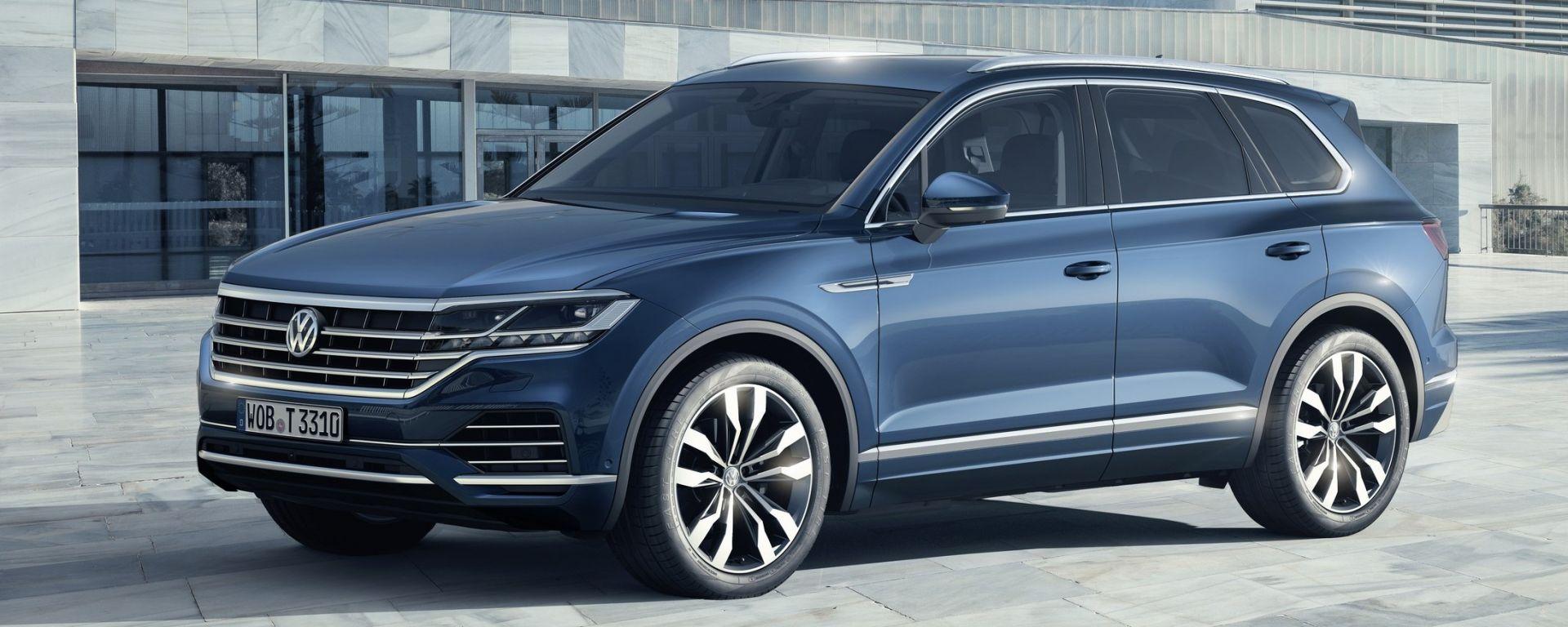 Nuova Touareg: ecco il SUV hi-tech di Volkswagen