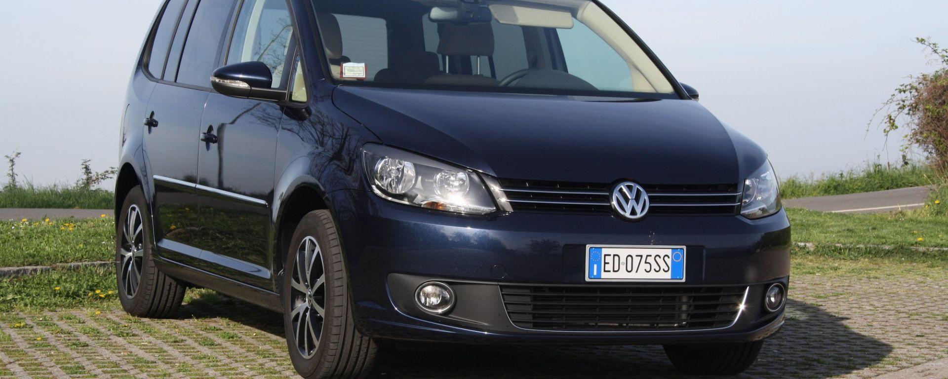 test drive volkswagen touran 2 0 tdi 170 cv dsg motorbox. Black Bedroom Furniture Sets. Home Design Ideas