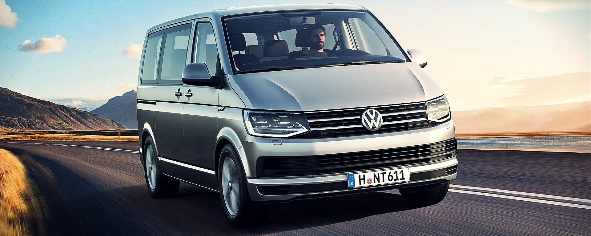 Volkswagen Transporter, Caravelle e Multivan T6