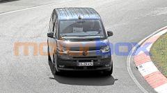 Volkswagen Transporter T7, il frontale