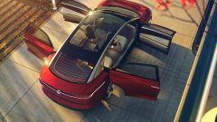 Volkswagen: un'elettrica senza nome sfida la Mercedes Classe S - Immagine: 8