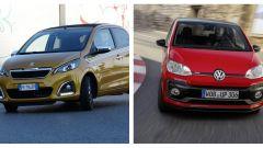 Volkswagen up! e Peugeot 107: stop alla produzione per sempre?