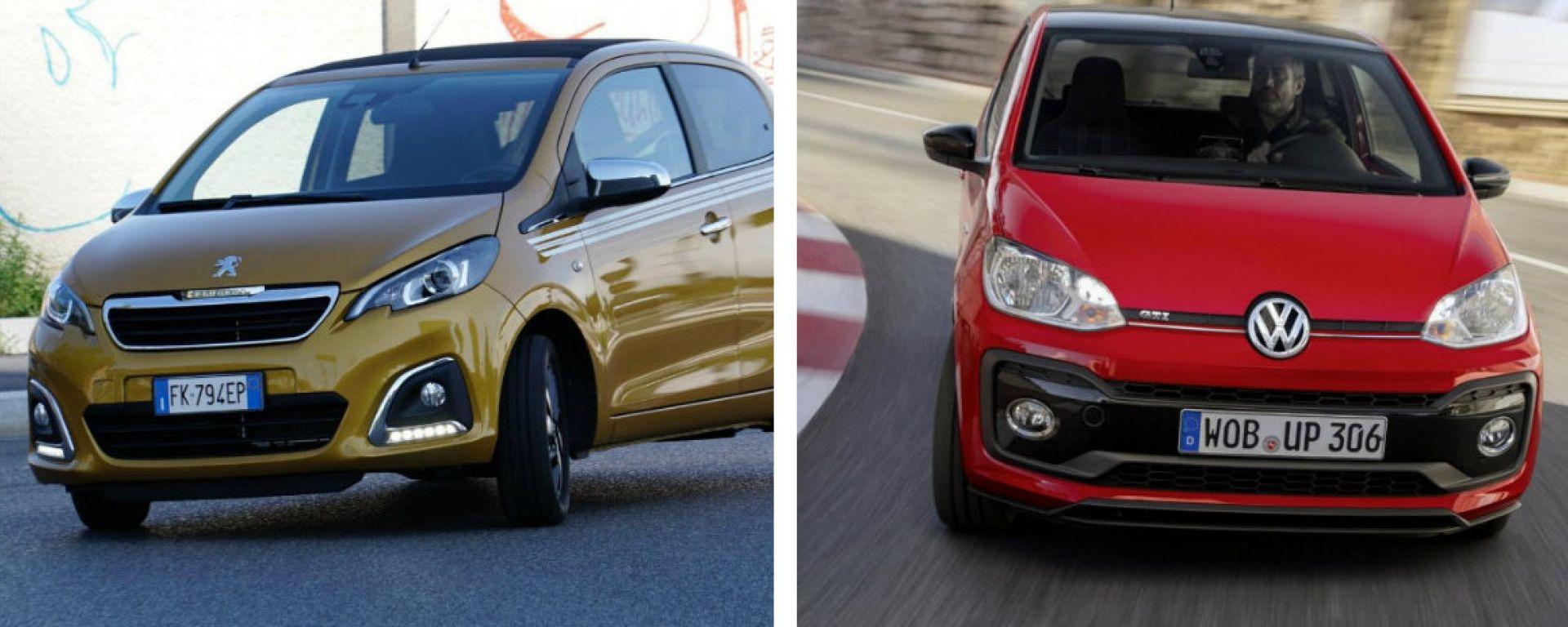 Volkswagen up! e Peugeot 108: fine della corsa?