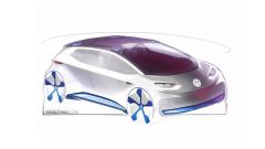 Volkwagen EV Hatchback Concept: le misure esterne sono simili a quelle della VW Golf