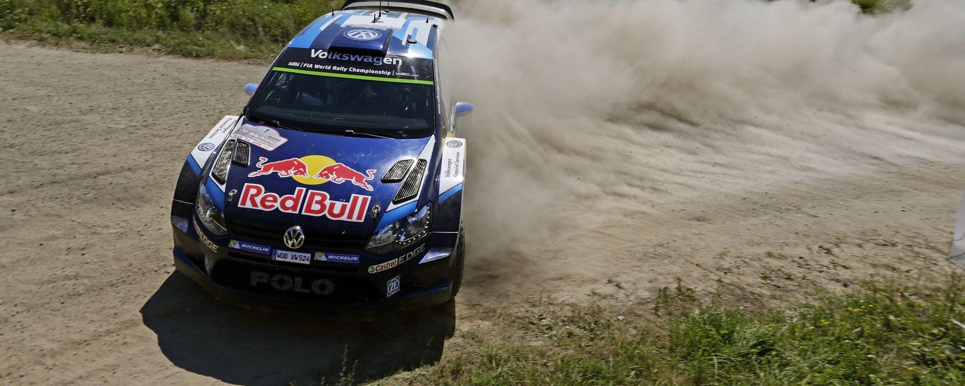 Volkwagen Motorsport Polo R WRC - Rally di Polonia 2016