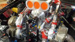 Volvo 960 Turbo Dart Racing: dettaglio dei turbo