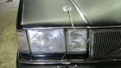Volvo 960 Turbo Dart Racing: i fari sono originali, le coppiglie per fissare il cofano... no