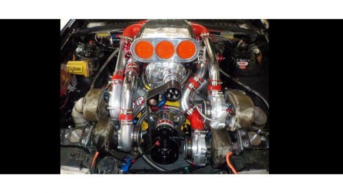 Volvo 960 Turbo Dart Racing, il motore