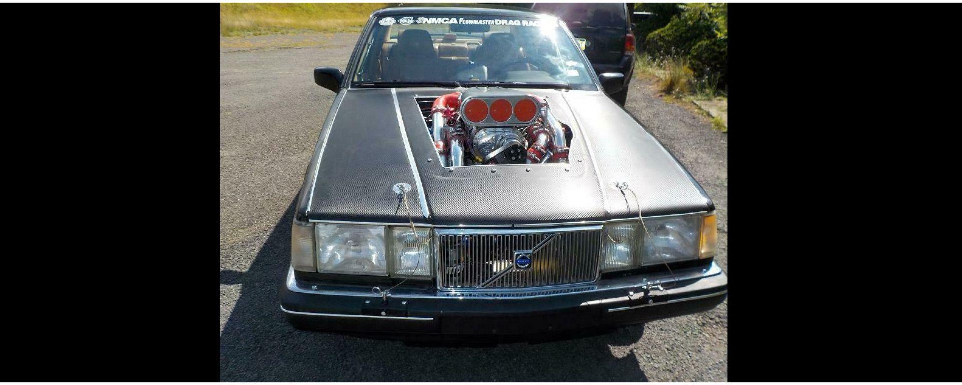 Volvo 960 Turbo Dart Racing: vista frontale