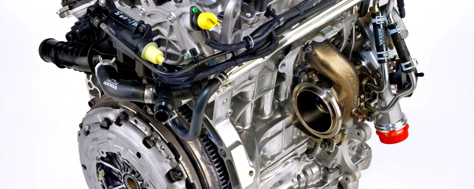 Volvo: arriva un nuovo tre cilindri
