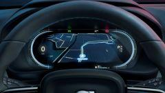 Volvo C40 Recharge: il cruscotto digitale
