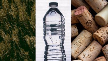 Volvo C40 Recharge, il tessuto Nordico realizzato con bottiglie riciclate e tappi di sughero