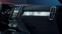 Volvo C40 Recharge: la plancia