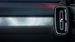 Volvo C40 Recharge: l'illuminazione della plancia