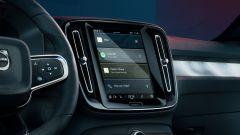 Volvo C40 Recharge: lo schermo centrale dell'infotainment