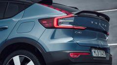 Volvo C40 Recharge: particolare della coda