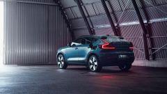 Volvo C40 Recharge: visuale di 3/4 posteriore