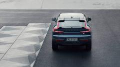 Volvo C40 Recharge: visuale posteriore